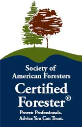 certified society of american foresters logo